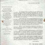 Carta del Patronato a invitados