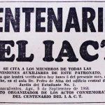 Citatorio a junta IACT