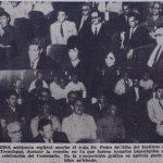 Fotografía de los asistentes a una junta.